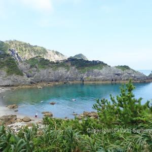 -5-温泉と海、東京癒し島で遊泳