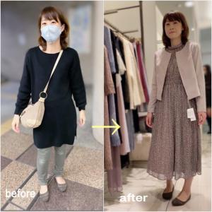ソフトエレガントさんのショッピング同行 プロフィール撮影用の綺麗目ファッション