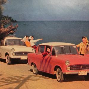 ★1960年 旭玩具1/18トヨペットコロナPT20型 ~ ブリキ自動車コレクションから 127