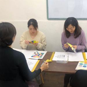 kyokoさんとmaoさんのパーソナルカラー講師養成