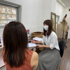 marikoさんのパーソナルカラー診断コンサル