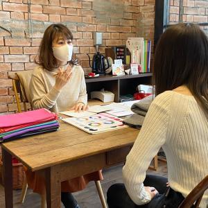 tomokoさんの養成講座の卒業検定でした