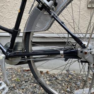 ママチャリの後輪パンク修理