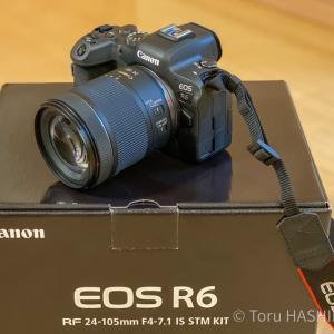 Canon EOS R6が届いた