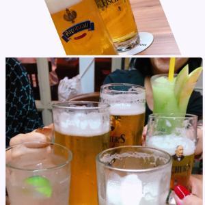 4人→8人緩和に乾杯@ドイツ料理