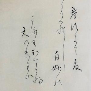 香港小姐、日本人以上に仮名を書きこなす