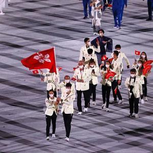 香港25年ぶりの金メダル、獲ってくれてありがとう!