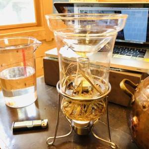 お鍋で芳香蒸留水を抽出しました〜*作り方