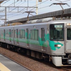 19/12/10 愛環1158H 2000系 G9+G10 緑塗装Wパンタ