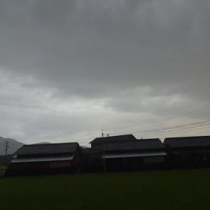 ゲリラ雨と月(R2.8.30)