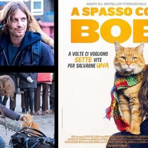 日本題名「ボブという名の猫」を見た