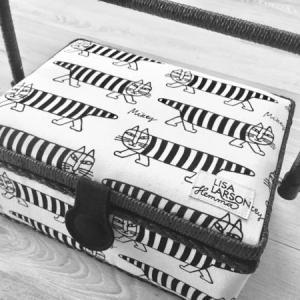 【お手頃¥3,980】Lisa Larson(リサラーソン)の裁縫箱