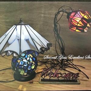 【夢のような光の空間】ステンドグラス教室展