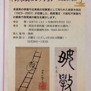 西尾藩主の書画
