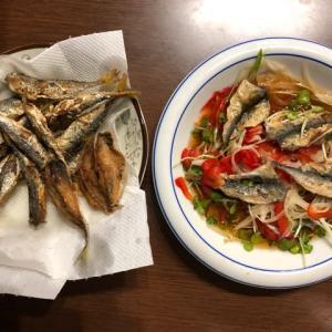 小サバの料理