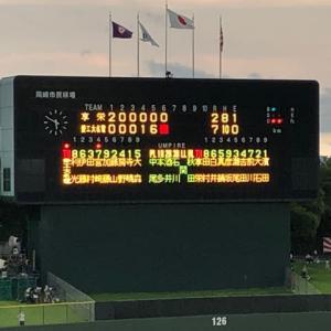 高校野球愛知大会決戦