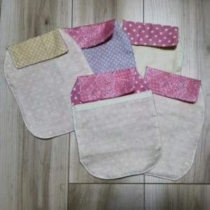 【手作り。】新生児用汗取りパッドを作ってみた。
