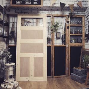 子ども部屋DIY バーンドア【PART 1】ドア作成