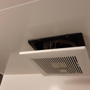 ■浴室のカビ防止の為に換気扇掃除を!