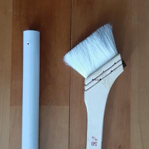 ■巾木の掃除に便利!専用ほうきをDIY
