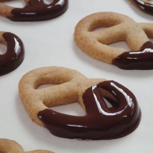 プレッツェルクッキー♪