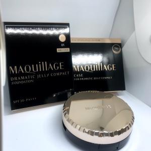 朝もお直しもこれ一つ!Maquillage ドラマティックジェリーコンパクト