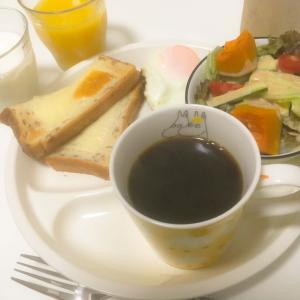 今朝はカフェ風メニュー✨