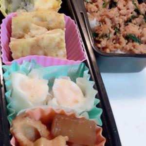 豚ひき肉ニラ弁当 NO487
