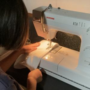 小さな縫い子さんの誕生