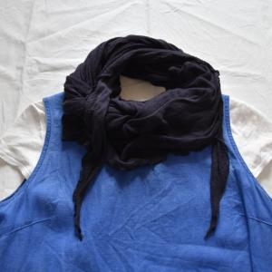 オールシーズン活躍するオーガニックコットンストール 〜 AIR ROOM PRODUCTS Cotton Knit Stole