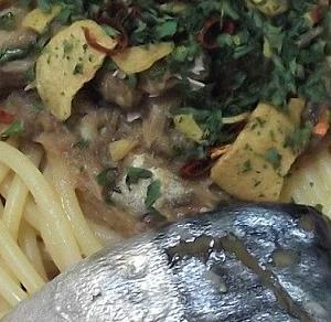 美味しいもの探検 サヴァ缶とオリーブオイルのパスタソース