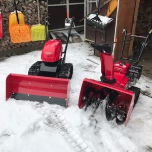 除雪が趣味?
