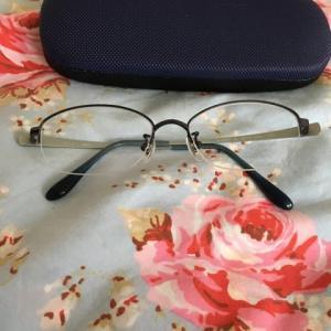 目が痛いので眼科にいきました。人生初メガネ購入