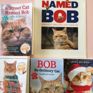 ボブという名のねこの続編映画の告知がありました