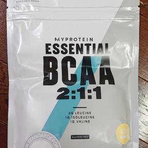 マイプロテインのBCAA(2:1:1)のビターレモンの味見をしてみました
