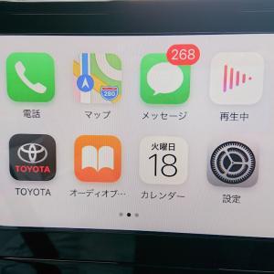 カローラツーリングでAndroid AutoとApple Car Playが無料で使えるました