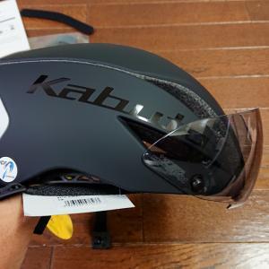 OGK KABUTOのAERO-R1 TR(ヘルメット)を買いました