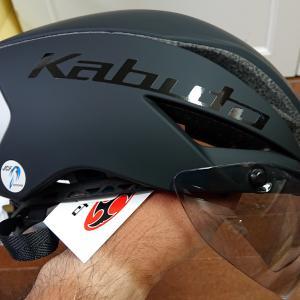 OGK KABUTOのAERO-R1 TRヘルメットのインプレ