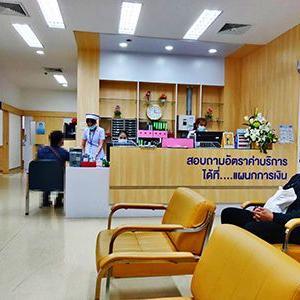 タイのビバラム病院1☆心不全★Vibharam Hospital in Bangkok