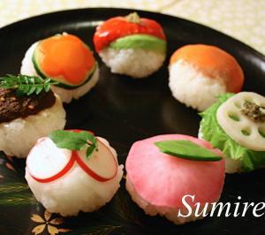 手まり寿司 レシピ