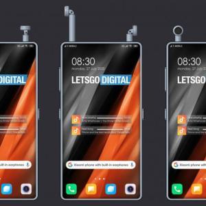 Xiaomi、完全ワイヤレスイヤホンを収納できるスマホの特許を取得