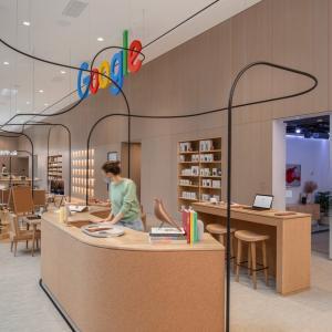 Google、ニューヨークに初の実店舗をオープン