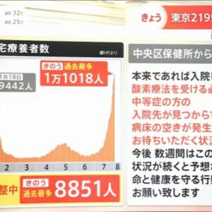 【悲報】日本政府「新型コロナ中等症患者も自宅療養なw」