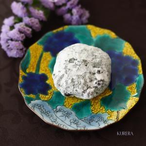 鉄板!和菓子と古九谷風和絵の具のお皿