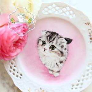 子猫ちゃんの似顔絵~ペット似顔絵サンプル