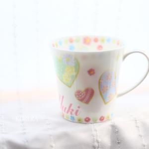 お孫さんへマグカップのプレゼント・生徒さま作品