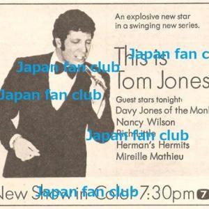 This is Tom Jones TV Show:チラシ切り抜き