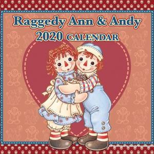 アンとアンディの2020年カレンダー入荷しました