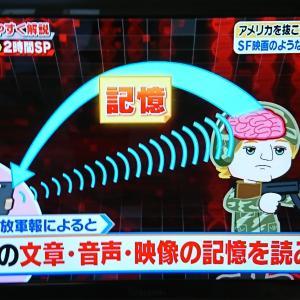 池上彰さんの番組で軍事技術としての思考盗聴、テクノロジー兵器(マイクロ波指向兵器)が...