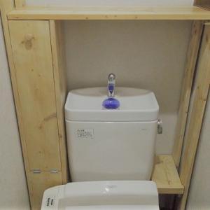 トイレの収納棚DIY!デッドスペースを無駄なく使う癒しの空間